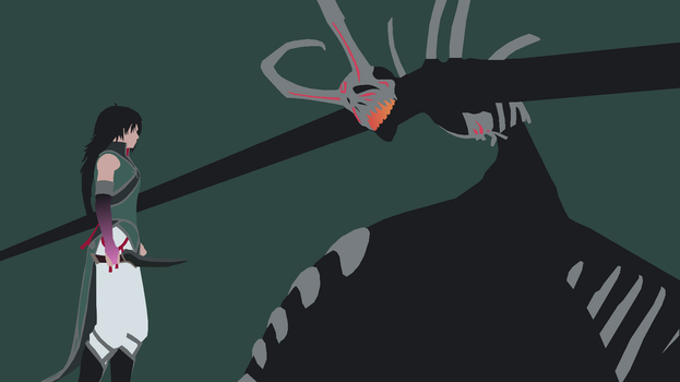 Minimalist Ren vs. the Nuckelavee by DamionMauville