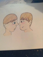 Ben And Doug Crayon Colored by Ashben11