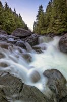 Widgeon Falls by jasonwilde