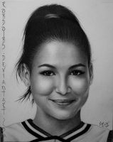 GLEE - Santana - Naya Rivera by robdolbs