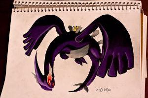 Shadow Lugia by NChicaGFX