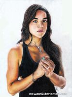 MICHELLE RODRIGUEZ by Mewax42
