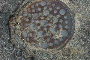 Sewer Grate 2 by Delia-Stock