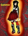 Sammie Colored by x-wanna-be-vamp-x