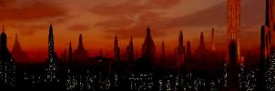 Coruscant Sunset by SPARTAN-004