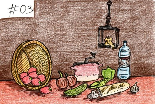 Day 03: favorite food by FauSToMaTiC