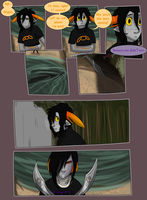 Fatal Gambit round 1 page 14 by GlowingBunny