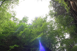 Lens Flare From heaven by The-Swift-Design