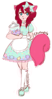 Sketch - Cranapple by LittleMacarons