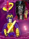 Bibleman and the Gossip Queen by SonicClone