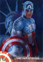Captain America ap 3 by charles-hall