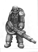 Heavy Duty Soldier by ImpEdge