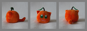 Orange Catfruit Plush by Catfruits
