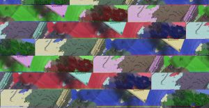 Minecraft background GLITCH Wallpaper by PutinPot