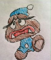 Mario: Private Goomp by Konggers