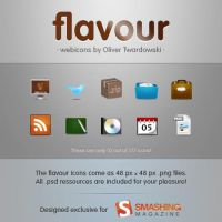 flavour webicons - preview - by twinware