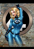 Invisible Sue Storm by A.M. by richmbailey