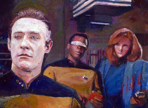 Star trek tng sketch card 12 by charles-hall
