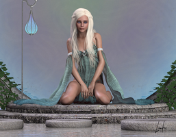 GAME OF THRONES Daenerys 3 by oOLaLoutreOo