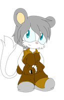 Riku the chinchilla by gederpop
