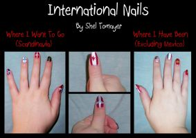 International Nails by Kaie13