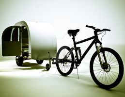 Bicycle Mini Camper Design 2 by sicklilmonky