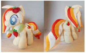 Strawberry Fountain Plush by StarMassacre