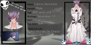 [Bleach OC Roleplay] :: Celicio Venceslas by ShadowExiladia