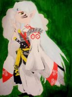 Sesshomaru by LittleCrabby