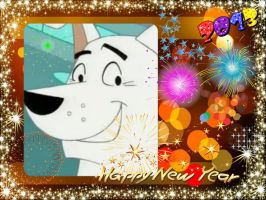 Happy New Years From Krypto!!! by DixieDevated