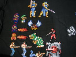 Perler Bead MISC Sprites by Buck-Chow-Simmons