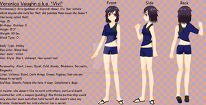 New Soul Eater OC-Veronia Vaughn Info by ShinanaEvangelian