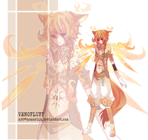 VENOFLUFF AUCTION [CLOSED] by Momoriin