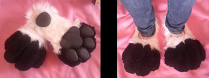 Quadsuit Feet by SuicidalMuffins