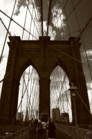 Brooklyn Bridge by galactica1actual
