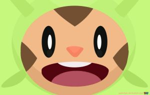 Chespin, I choose you! by RyoheiGFX