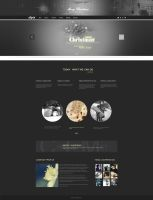 Christmas special design gray Christmas Banner des by lidingling
