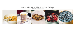Pack PSD #1 - The Little Thing by VictorDe