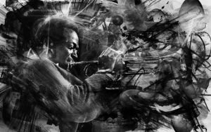 Miles Abstract Wallpaper ONE by Captain-BlackHeart