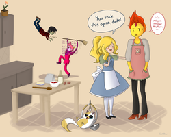 Adventure Time - Apron by GustyBow