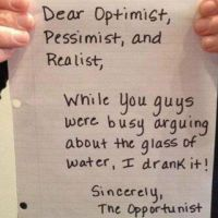 It's better to be the opportunist by FloriLucia