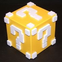 Mario Question Block by Clockwork-atrocity