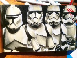 Star Wars Daily Sketch 15 by danomano65
