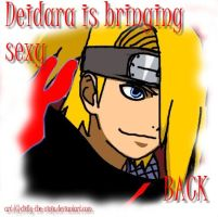 Deidara's bringing sexy BACK by Didly-The-Ninja