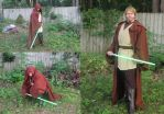 Jedi Costume Set by Nerds-and-Corsets