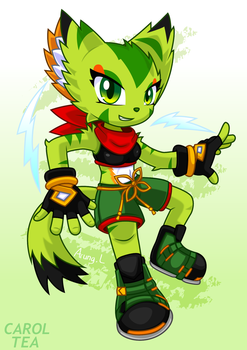 Freedom Planet 2 - Carol Tea by Arung98