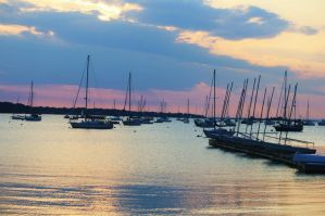 Port Jefferson Harbor by HHeim02