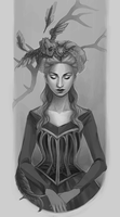 Sketch: Mother Of Madness by xsierramichelle