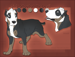 STS Dog- Azazel by ShockTherapyStables