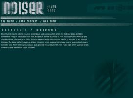 noiser web layout by Meow-chi